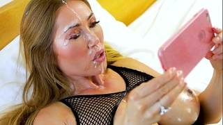 Perfect pov large tit kianna dior gives pov oral-service & receives sexy facial