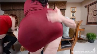 two bbw pawgs take on some massive rods