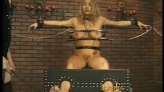 Big bumpers horny white wife is a consummate subject for some painful female domination-6