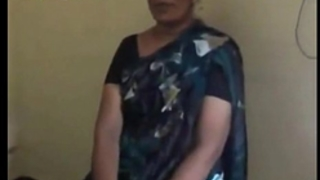 Indian desi teacher aunt stripping and engulfing cock of her co-worker mms - indian sex movie scenes