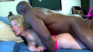 Black ramrod makes me squirt