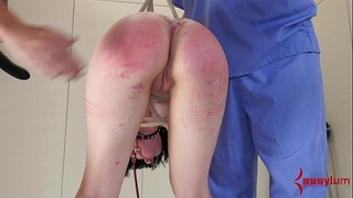Young alt dirty slut wife is fucked into ass, then has arsehole waxed shut