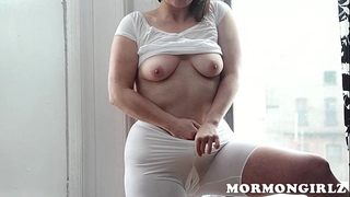 Mormongirlz: mormon milf masturbates with sex-toy