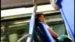 Dick flashing to thrilling woman in the bus