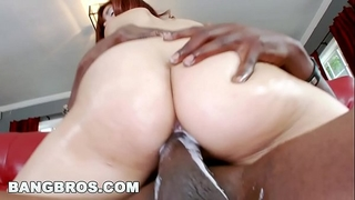 Bangbros - leah cortez creams all over lexington steele's monster schlong!