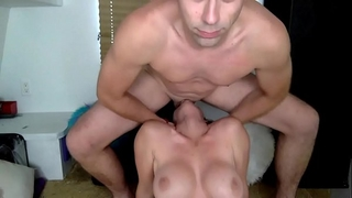 Brutal face fuck for penis hungry doxy nicole rossi
