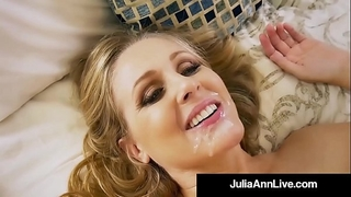 Hot step mother julia ann acquires naked & nasty with step son!